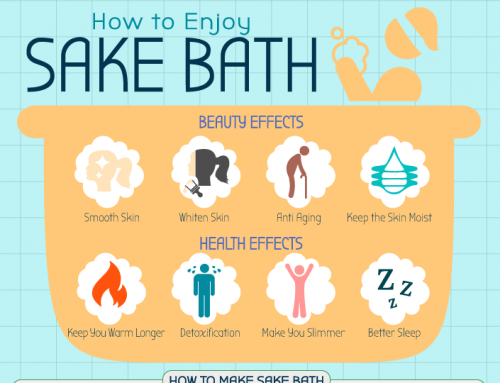 How to Enjoy Sake Bath