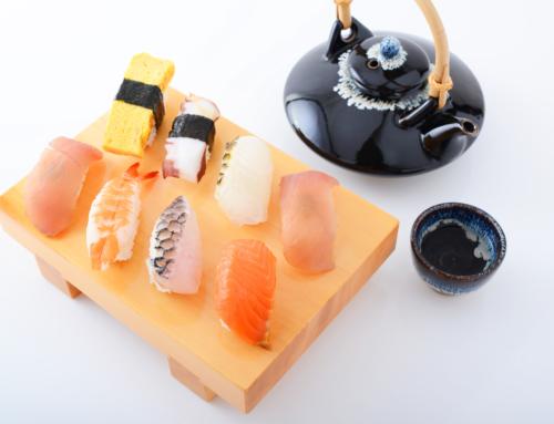 Sake for sushi