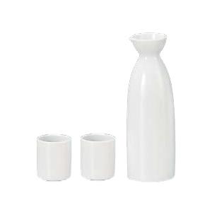 Mino Ware Sake Set White