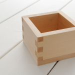 HOW TO DRINK OUT OF MASU(Square Sake Box)