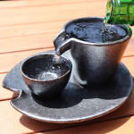 OVER FLOW YOUR CUP!! - SIZZLE SAKE SET