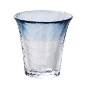 Glass Sake Cup Sea Fog