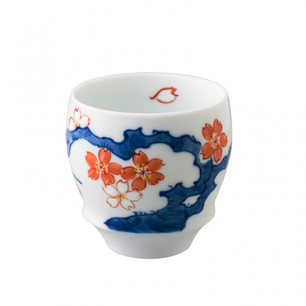 Arita Ware SAKE CUP Cherry Blossoms