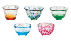 Tsugaru Vidro 5 Mini Glass Set