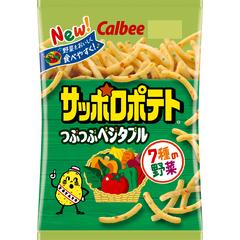 Calbee sapporo potato crushed vegetable